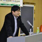 みんなの党北海道支部主催の集会に安住太伸支部長とご一緒しました