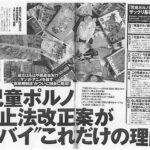 児童ポルノ禁止法改正案について山田太郎が反対を表明している件が、週刊プレイボーイに掲載されました