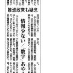 TPP交渉の進捗等についての質疑が日本農業新聞に取り上げられました。