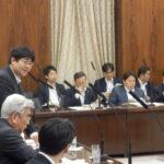 TPPと農協改革、農業2法案について質疑しました。