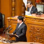 地方創生2法案に関して、本会議にて安倍総理に質疑を行いました
