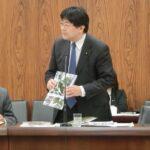 お帰りなさい林農林水産大臣、花粉症対策・日本の森林事業政策について再び取り上げました