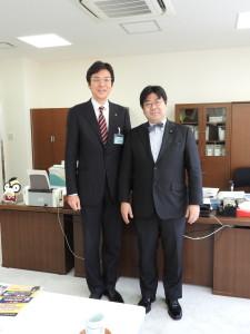 齊藤栄 熱海市長と参議院議員 山田太郎